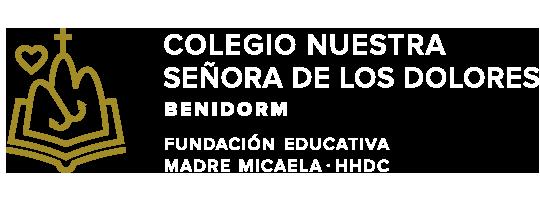 Web del colegio Nuestra Señora de los Dolores. Benidorm. HHDC
